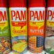 pam cooking spray cans in store